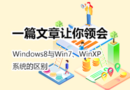 一篇文章领会Windows8与Win7、WinXP系统的区别