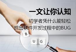 一文让你认知初学者凭什么能轻松找出软件开发过程中的BUG