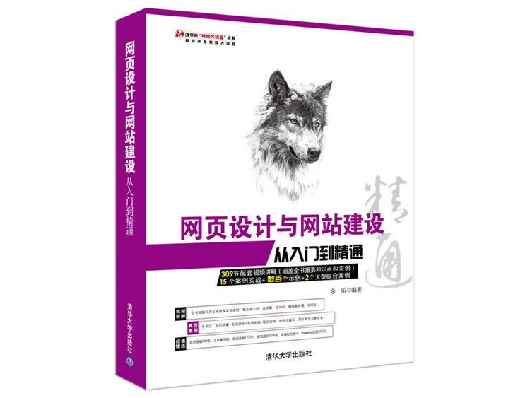 网页设计与网站建设从入门到精通 余乐 著 清华大学出版社