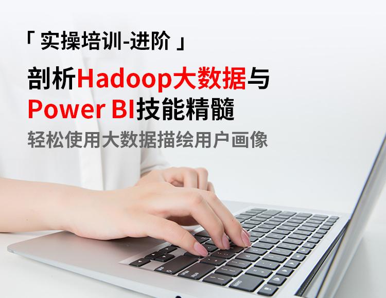 【资深】剖析Hadoop大数据与Power BI技能精髓,轻松使用大数据描绘用户画像