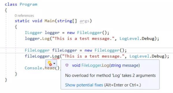 C#学习之在 C# 8 中使用默认接口方法